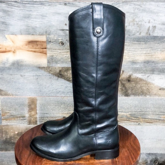 Frye Cara Roper Short Boots Women/'s Classic Vintage Antiqued Leather Pull On NIB